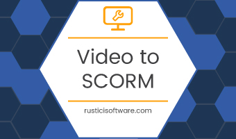 how to convert Video to SCORM