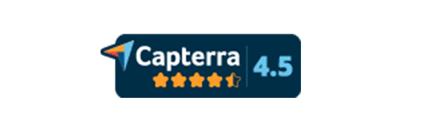 SCORM Cloud Capterra badge